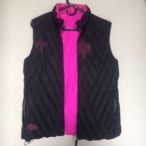 Volcom reversible jacket vest.